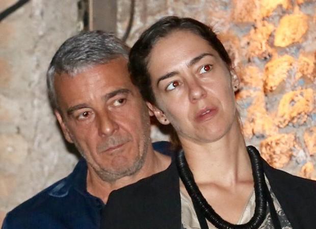 Alexandre Borges é clicado com morena (Foto: Manuela Scarpa/Brazil News)