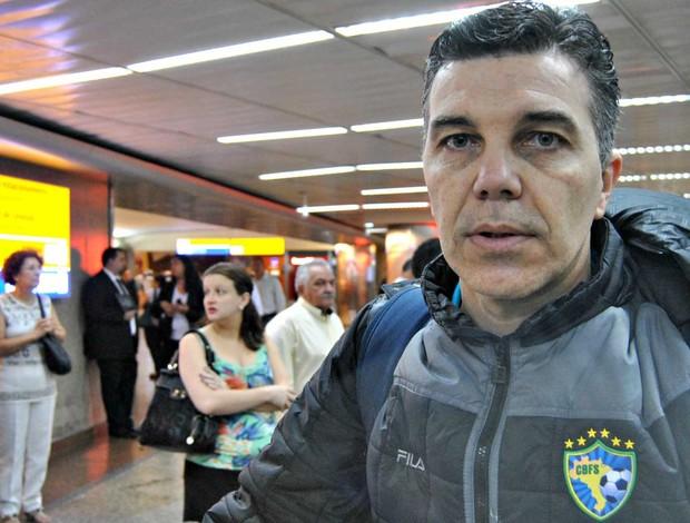 marcos sorato seleção brasileira futsal feminino (Foto: João Gabriel Rodrigues/Globoesporte.com)