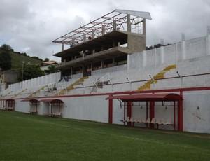 Obras, estádio, Almeidão, Tombense (Foto: Reprodução / Site Oficial do Tombense)