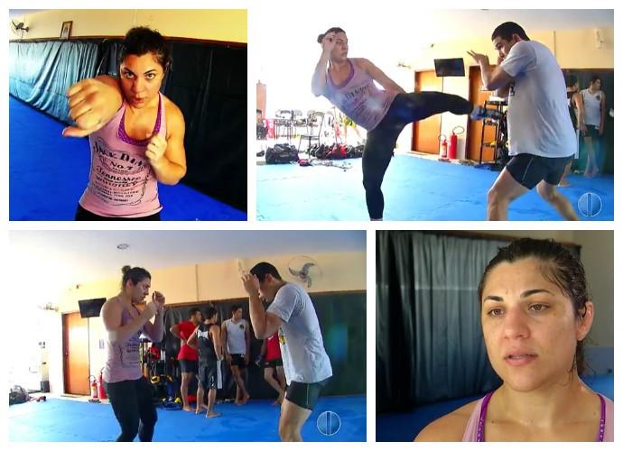Bethe Correia treino Natal (Foto: Reprodução)