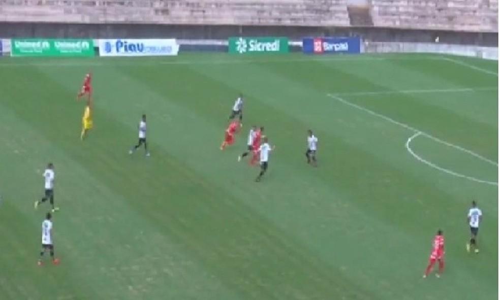 São Raimundo-PA venceu o Baré por 4 a 0 e é denunciado por escalação irregular (Foto: Reprodução facebook)