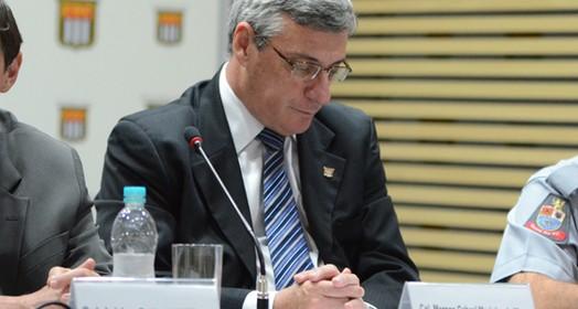 troca de comando (Rodrigo Corsi/FPF)