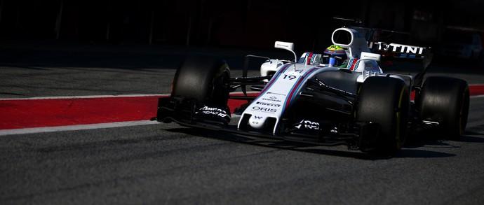 Felipe Massa nos testes da pré-temporada da Fórmula 1 (Foto: Getty Images)