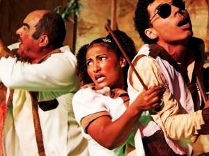 Espetáculo Remendo Remendó é apresentado em Rio Branco e Cruzeiro do Sul (Foto: Sidney Rocharte/Divugalção)
