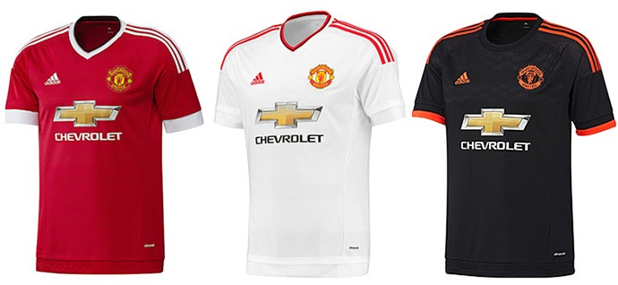 Camisas Champions manchester united