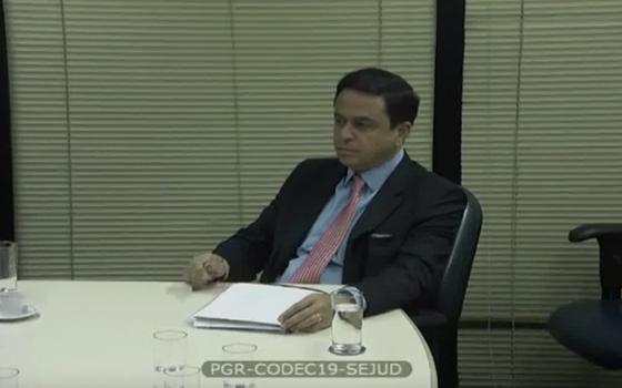 Francisco de Assis e Silva, diretor jurídico do grupo J&F (Foto: Reprodução)