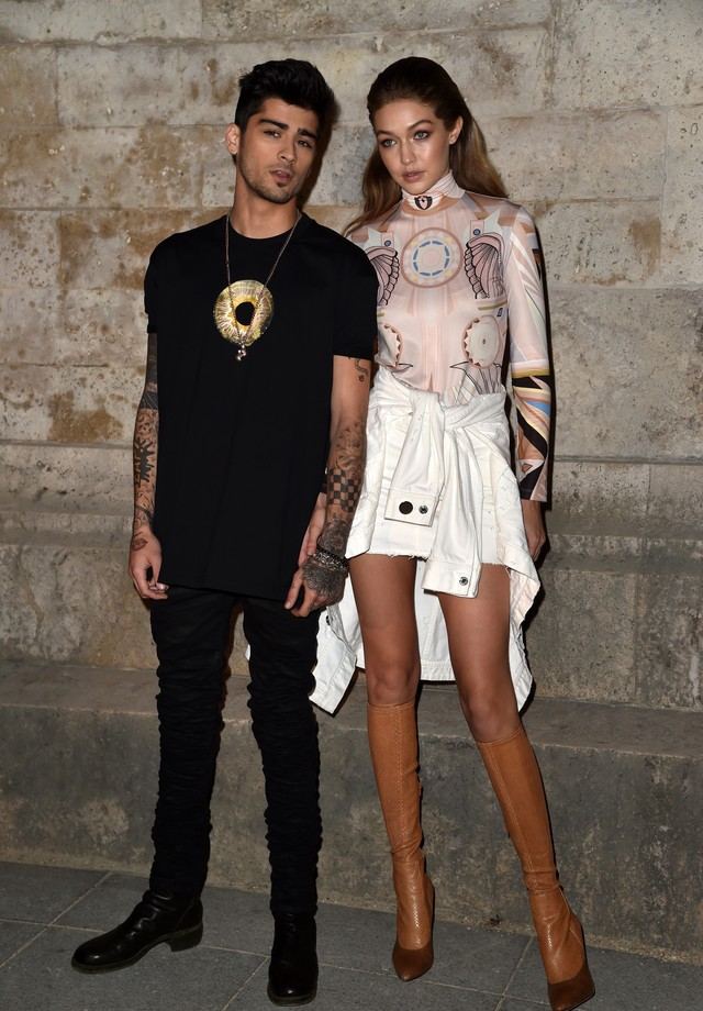 Gigi Hadid e Zayn Malik (Foto: Getty Images)