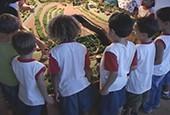 Projeto promove a educação ambiental                      (Reprodução TV)