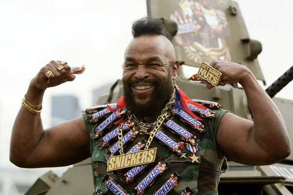 O ator Mr. T (Foto: Getty Images)