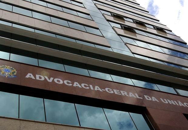 Sede da Advocacia-Geral da União (AGU) em Brasília (Foto: Reprodução/Facebook)