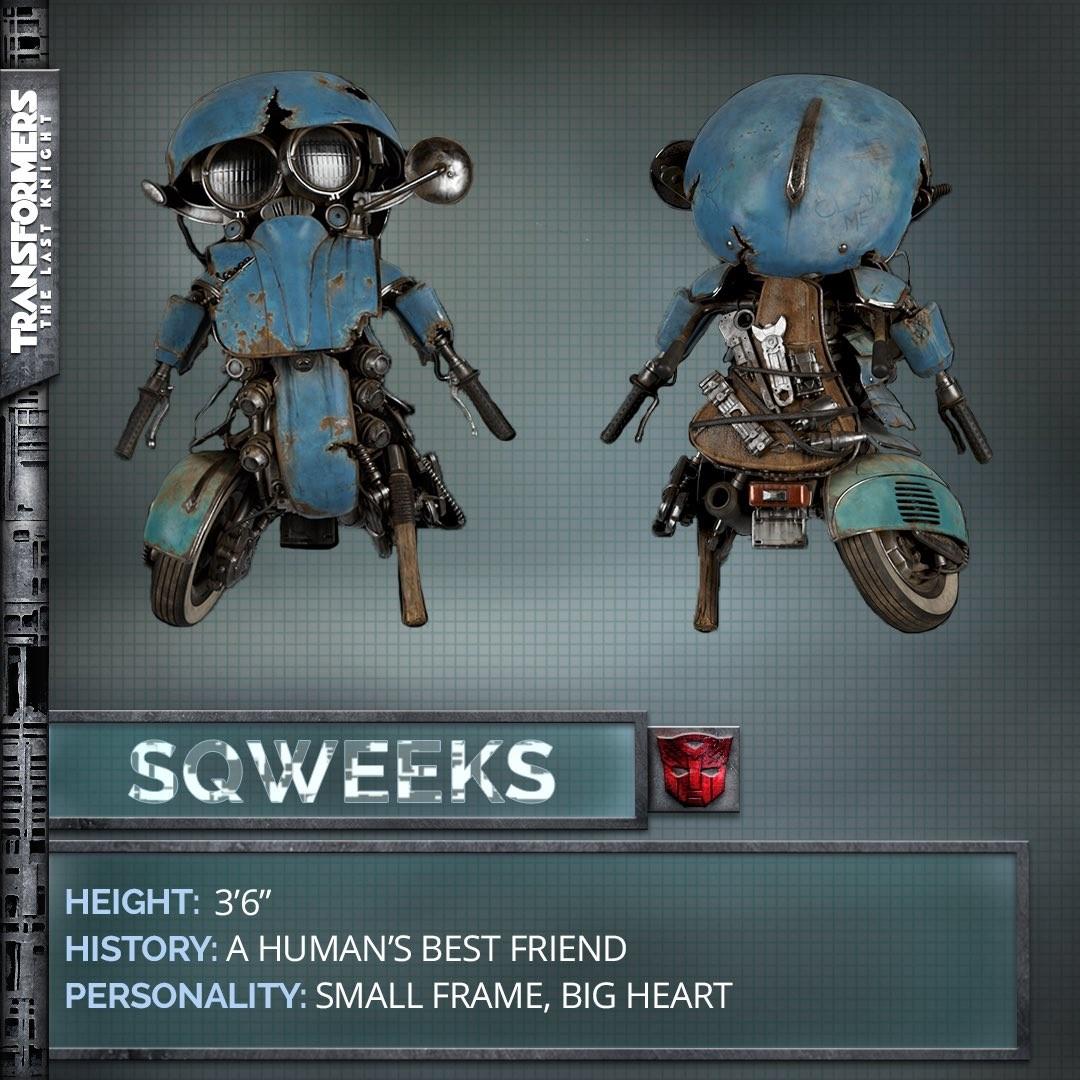 Autobot Sqweeks em Transformers: O Último Cavaleiro (Foto: Divulgação)