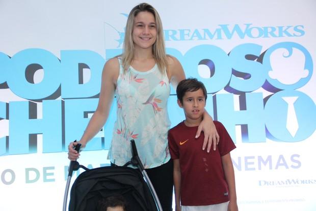 Fernanda Gentil (Foto: Wallace Barbosa/AgNews)