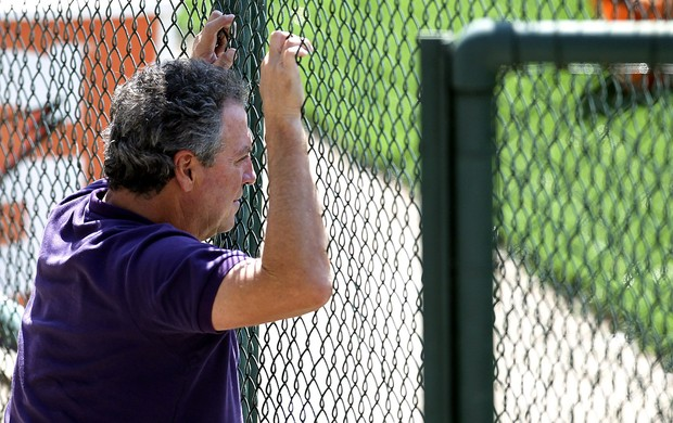Abel Braga fluminense treino (Foto: Alexandre Cassiano / O Globo)