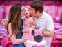 Larissa Maciel comemora aniversário da filha Milena