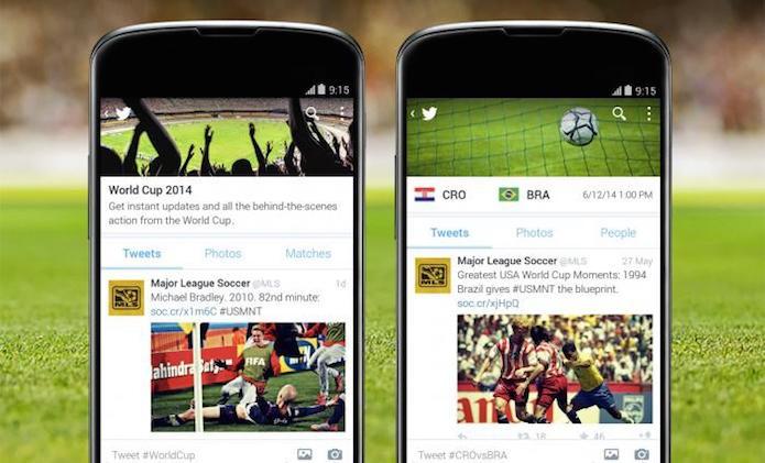 Twitter está com novas opções para que quer ficar por dentro da copa (Foto: Reprodução/Blog do Twitter)