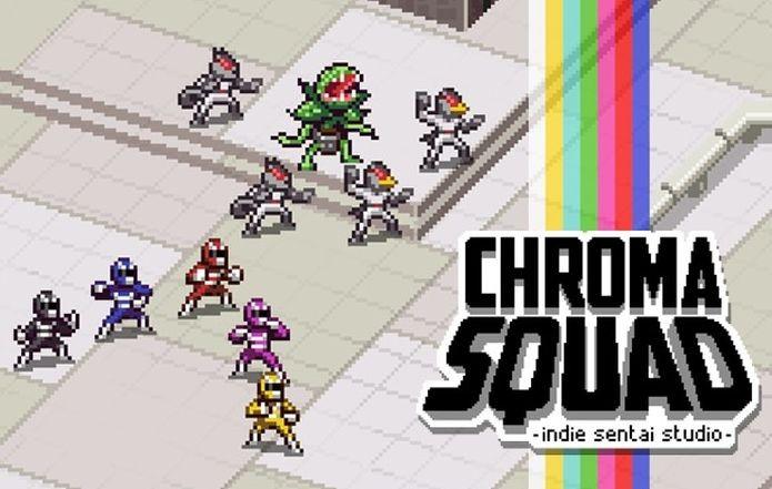 Chroma Squad é o novo jogo de Marcos Venturelli e do Behold Studios, que chega ao Splitplay (Foto: Divulgação)