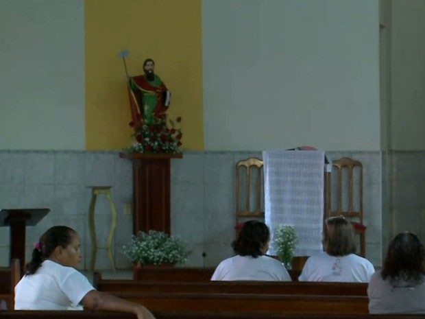 São Judas Tadeu é conhecido na Igreja Católica por ser o 'Santo das Causas Perdidas' (Foto: Reprodução/TV Mirante)