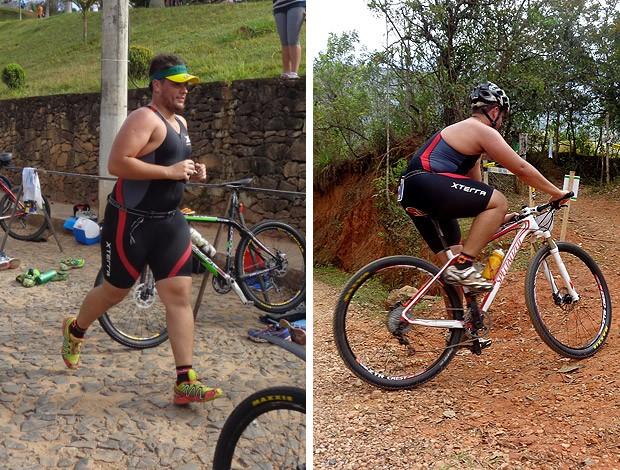MONTAGEM - Lucas Camargo eu atleta   (Foto: Fernanda Cansanção)