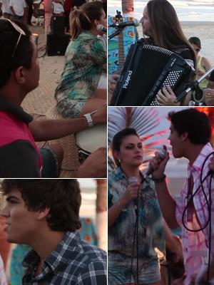 Cantores se encontram em Aracaju para especial do G1 (Foto: G1)