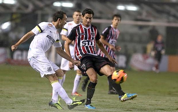 Paulo Henrique Ganso jogo Santos contra São Paulo (Foto: Rubens Chiri / saopaulofc.net)