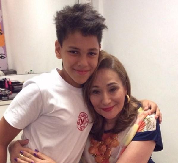 Ryan e Sônia Abrão (Foto: Instagram / Reprodução)