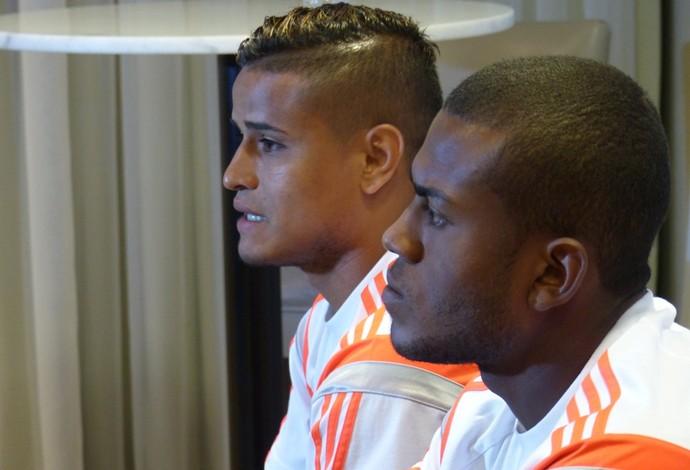 Everton diz que, no Flamengo, há bastante pressão (Foto: Cahê Mota)