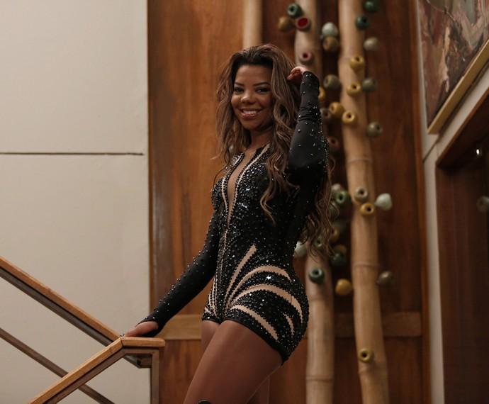 Ludmilla grava participação em 'I Love Paraisópolis' (Foto: Raphael Dias/Gshow)