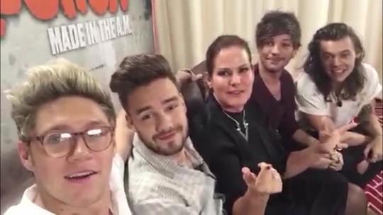 Fantástico entrevista One Direction no México