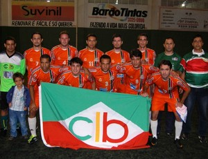 Clube &#205;talo, futebol 7 society (Foto: Divulga&#231;&#227;o/Fecafss)