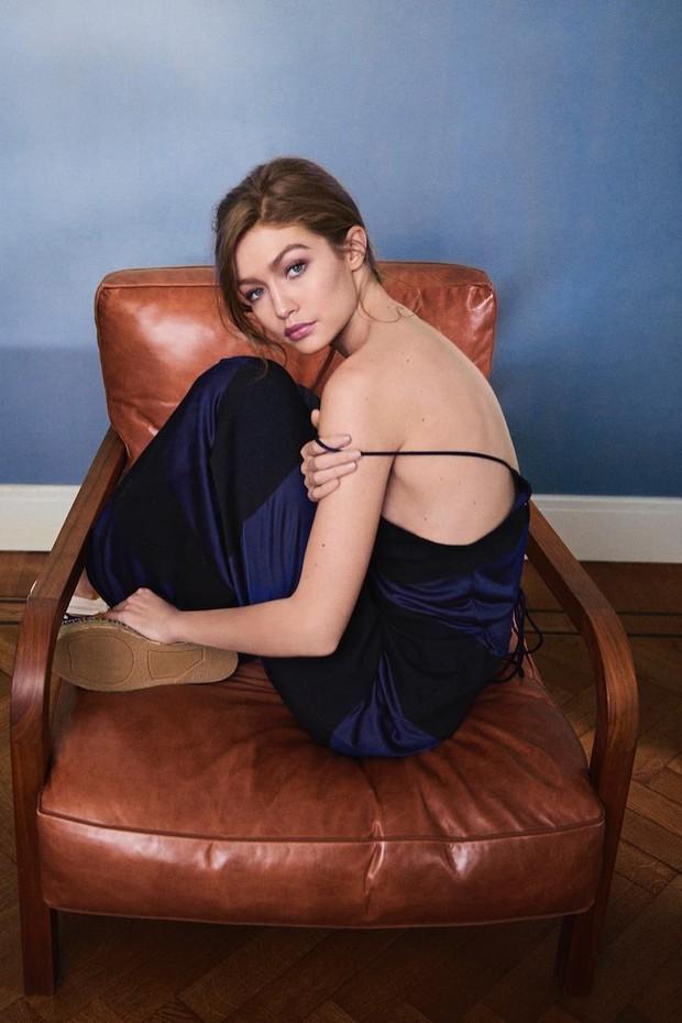 Gigi Hadid para Vogue Holanda (Foto: Serge Leblon)