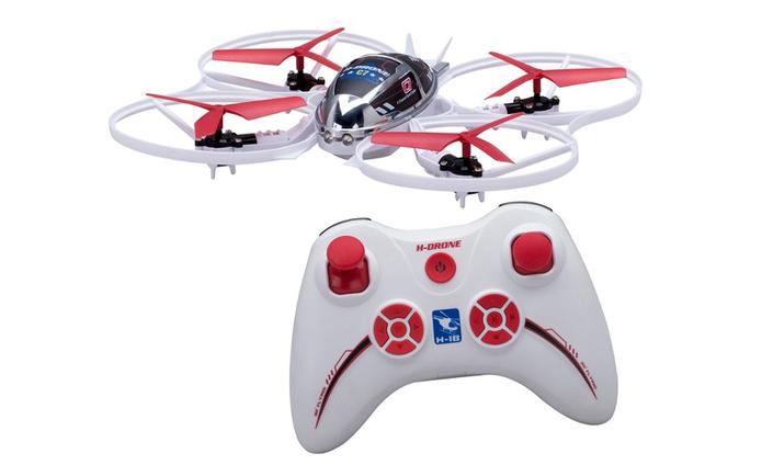 Modelo H-Drone C7 da Candide é indicado para crianças de 5 a 7 anos (Foto: Divulgação/Candide)