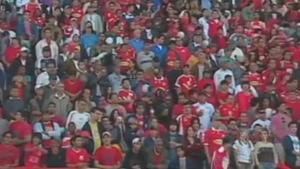 Público, estádio Morenão, Comercial-MS x Naviraiense, 2010 (Foto: Reprodução/TV Morena)