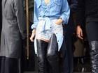 Rihanna desmente relacionamento com Ashton Kutcher, diz site