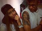 Neymar mostra tatuagem em homenagem à irmã, Rafaella Santos