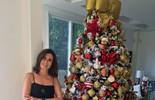 Fátima Bernardes mostra árvore de Natal e diz: 'Tem enfeite desde que meus filhos eram pequenos'