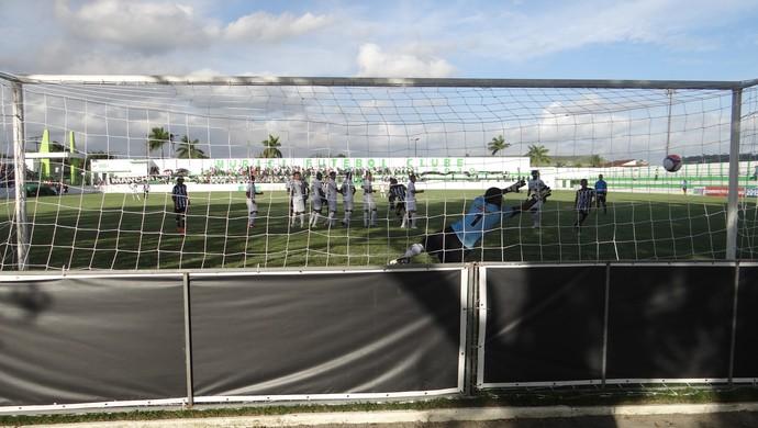 Murici 0 x 2 ASA, gol (Foto: Leonardo Freire/GloboEsporte.com)
