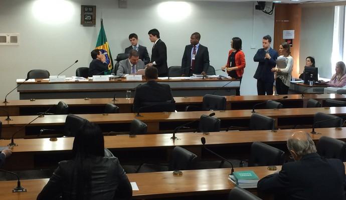 Relatório da MP do Futebol é aprovado com plenário vazio (Foto: Fabrício Marques)