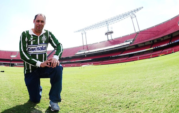 Evair ex Palmeiras (Foto: Marcos Ribolli / Globoesporte.com)
