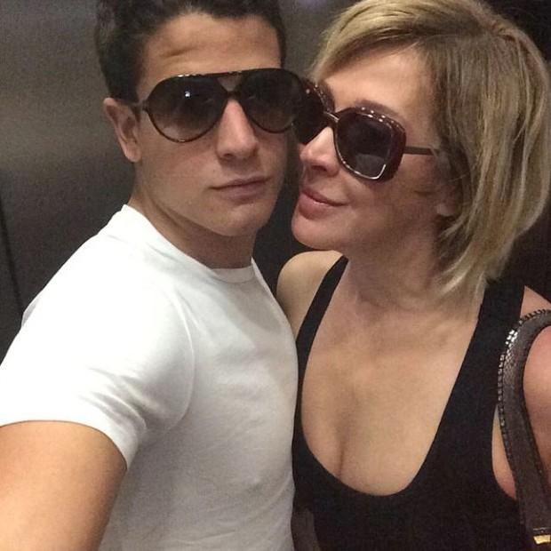 Enzo e Claudia Raia (Foto: Reprodução/ Instagram)