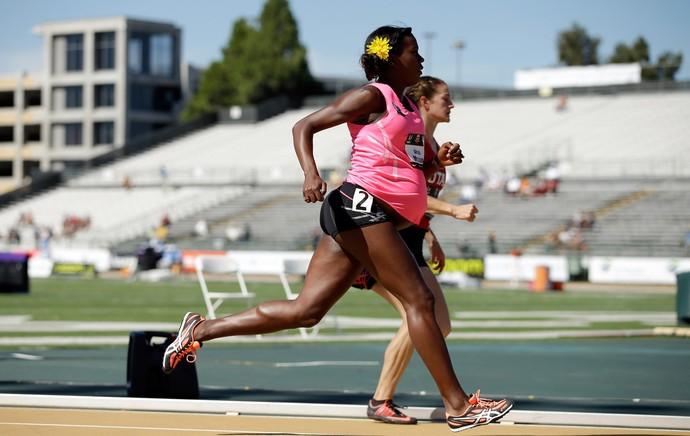 Alysia Montano gravida sacramento atletismo (Foto: Getty Images)