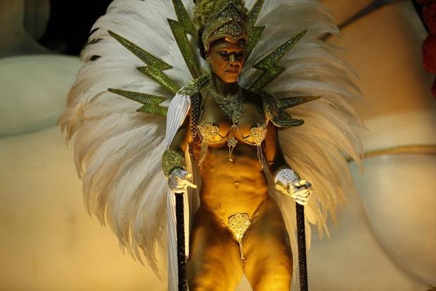 Rosi Barreto, Musa da União da Ilha (Foto: Marcos Serra Lima / EGO)