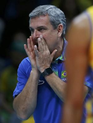 José Roberto Guimarães Brasil x Argentina vôlei feminino (Foto: Marcelo Del Pozo/REUTERS)