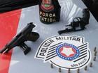Homem é preso com revólver e pistola em Pindamonhangaba
