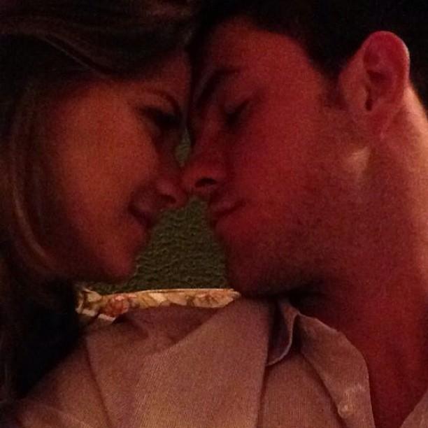 Milena Toscano e o namorado, João Paulo Rio Branco (Foto: Instagram/ Reprodução)