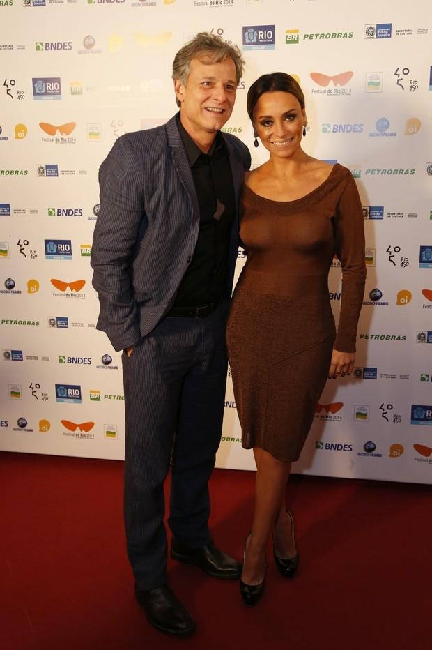 Marcello Novaes e Suzana Pires (Foto: Felipe Assumpção / AgNews)