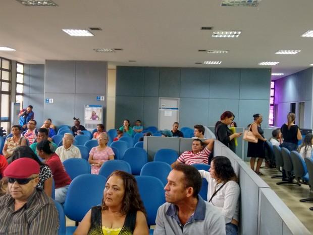 Agência do INSS retomaram atendimento no Tocantins (Foto: Gabriela Lago/G1)