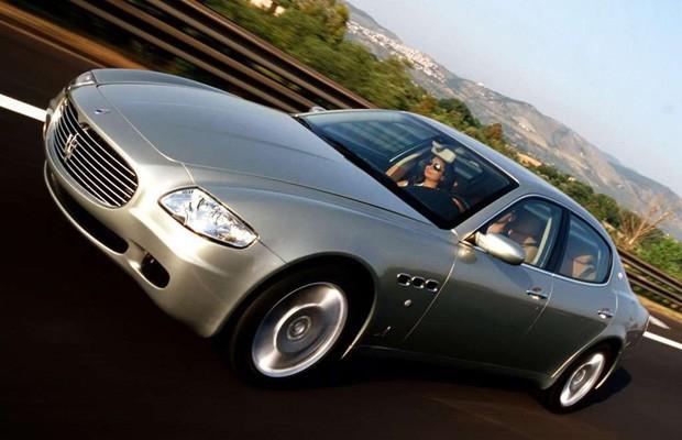 Maserati Quattroporte 2004 (Foto: Divulgação)