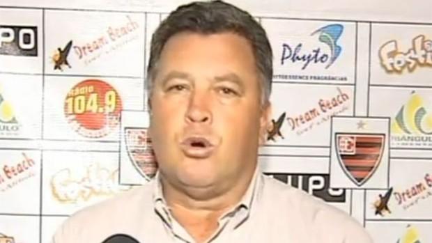 Roberto Cavalo, técnico do Oeste (Foto: Reprodução/TV Tem)