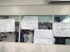 Ambulantes protestam durante sessão da Câmara de Maceió