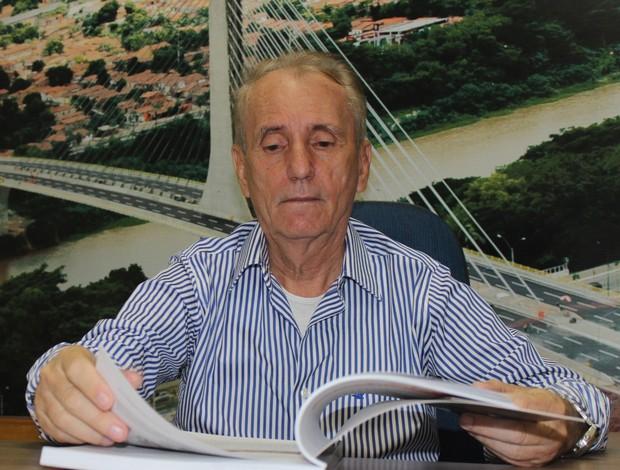 Cid Dias, engenheiro - Albertão (Foto: Josiel Martins )